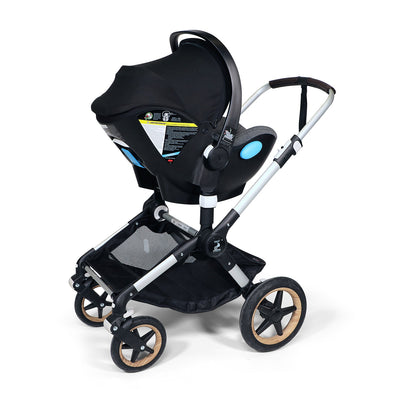 Clek Liing Infant Car Seat on the Bugaboo Fox