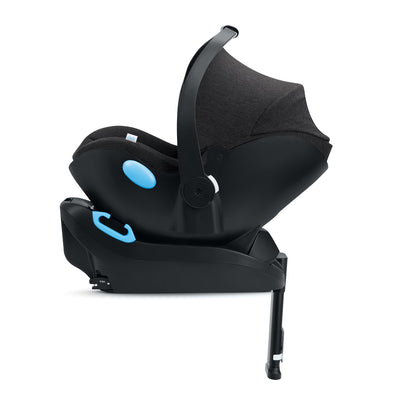 Clek Liing Infant Car Seat + Base in Mammoth side view