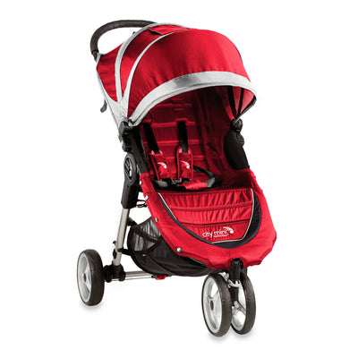Baby Jogger City Mini® Stroller in Crimson and Grey