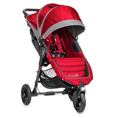Baby Jogger City Mini® GT Stroller in Crimson/Gray