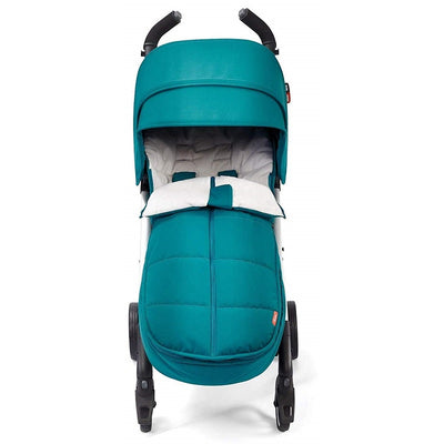 Diono All Weather Footmuff in Blue Turquoise on stroller