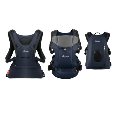 Diono Carus Complete 4-in-1 Baby Carrier in Navy