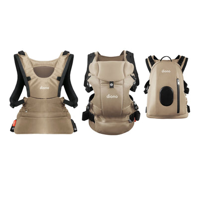 Diono Carus Complete 4-in-1 Baby Carrier in Sand