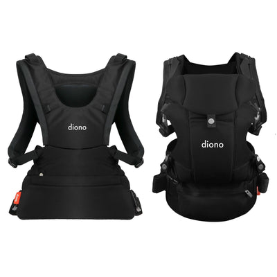Diono Carus Essentials 3-in-1 Baby Carrier in Black