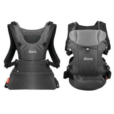 Diono Carus Essentials 3-in-1 Baby Carrier in  Grey Light