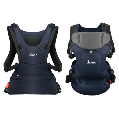 Diono Carus Essentials 3-in-1 Baby Carrier in Navy