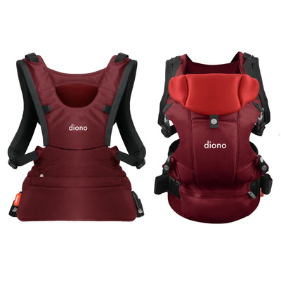 Diono Carus Essentials 3-in-1 Baby Carrier in Red