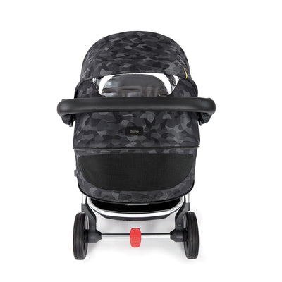 Diono Excurze Luxe Stroller in Black Camo with viewing window