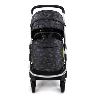 Diono Excurze Luxe Stroller in Black Camo with apron