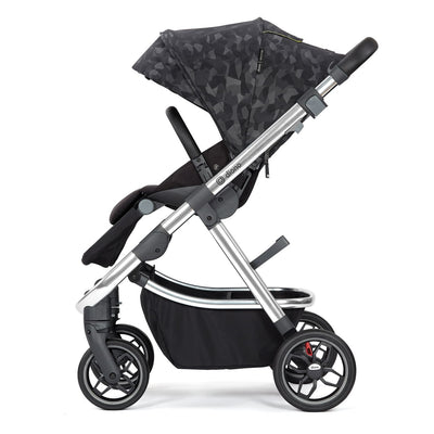 Diono Excurze Luxe Stroller in Black Camo side view
