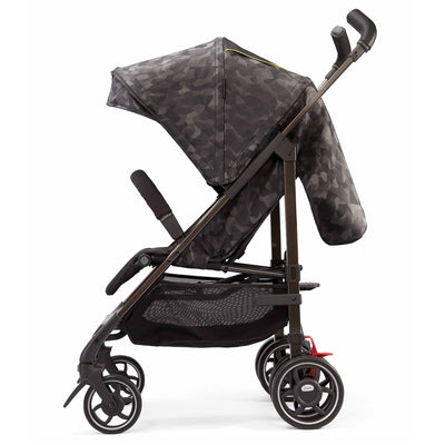 Diono Flexa Luxe Compact Stroller in Black Camo side view