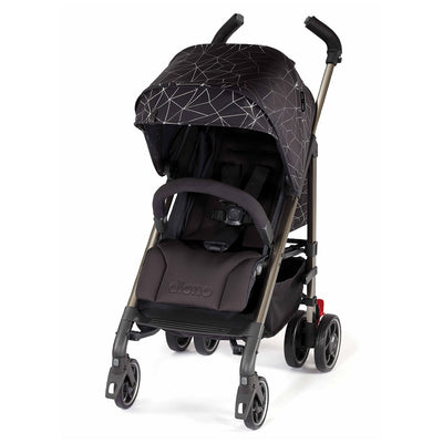 Diono Flexa Luxe Compact Stroller in Black Platinum