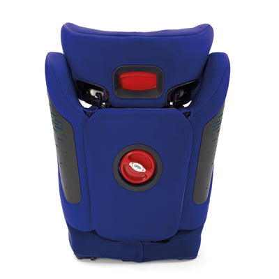 Diono Monterey® 4DXT Booster in Blue back view