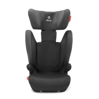Diono Monterey® 4DXT Booster in Dark Grey with headrest extended