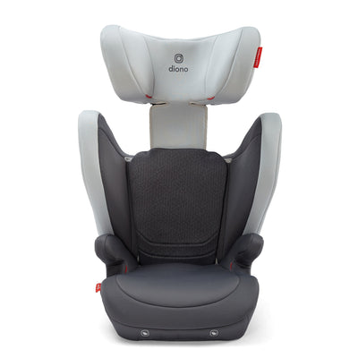 Diono Monterey® 4DXT Booster in Grey Light with headrest extended