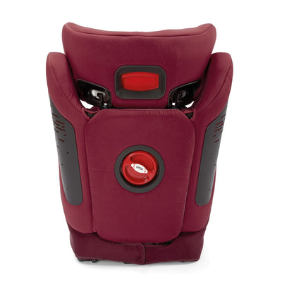 Diono Monterey® 4DXT Booster in Plum back view
