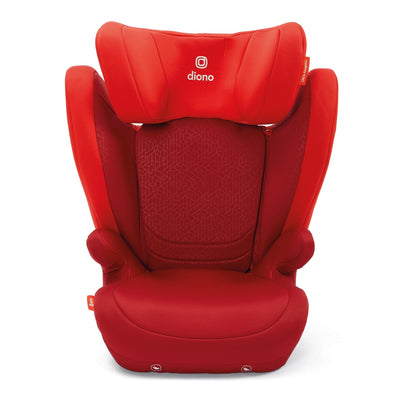Diono Monterey® 4DXT Booster in Red with side wings extended