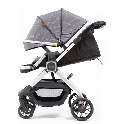 Diono Quantum² Stroller in Grey Linear