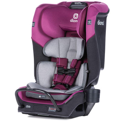 Diono Radian® 3QX Latch Ultimate All-in-One Convertible Car Seat in Purple Plum