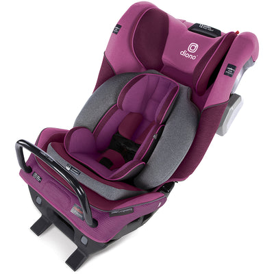 Diono Radian® 3QXT Latch Ultimate All-in-One Convertible Car Seat in Purple Plum