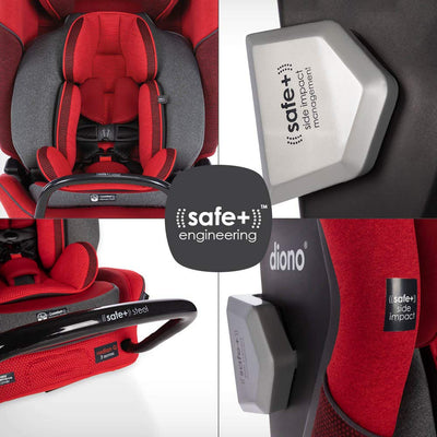 Diono Radian® 3QXT Latch Ultimate All-in-One Convertible Car Seat in Black Jet