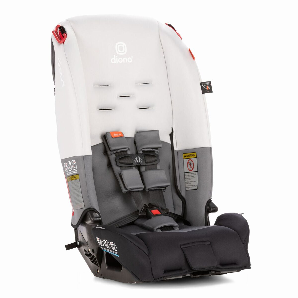 Diono RadianR 3 R Convertible Booster Car Seat In Grey Light