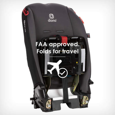 Diono Radian® 3R Latch Convertible+Booster Car Seat in Black Jet