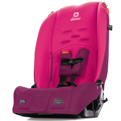 Diono Radian® 3R Latch Convertible+Booster Car Seat in Pink Blossom