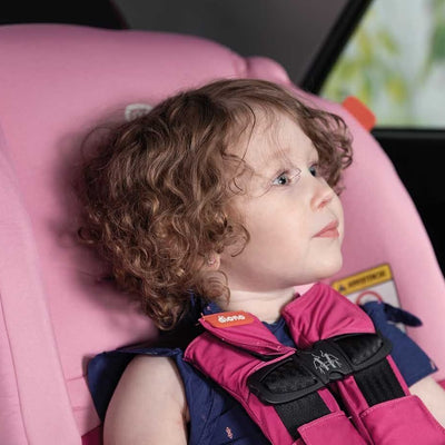 Toddler sitting in Diono Radian® 3 RX Convertible+Booster Car Seat forward facing