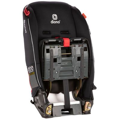 Diono Radian® 3 RX Convertible+Booster Car Seat in Black folded