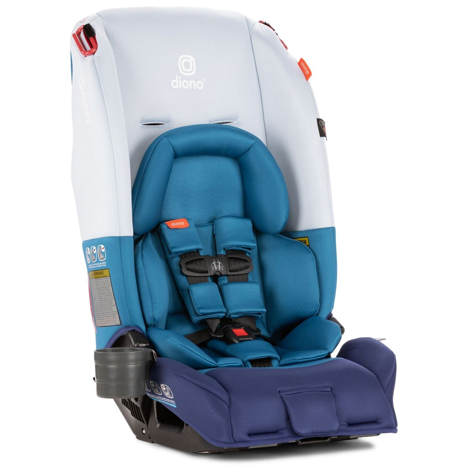 Diono RadianR 3 RX Convertible Booster Car Seat In Blue