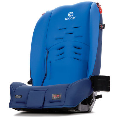 Diono Radian® 3RX Latch Convertible+Booster Car Seat in Blue Sky and booster mode