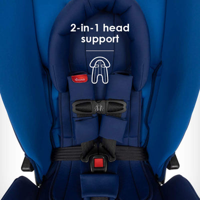 Diono Radian® 3RX Latch Convertible+Booster Car Seat with infant head support