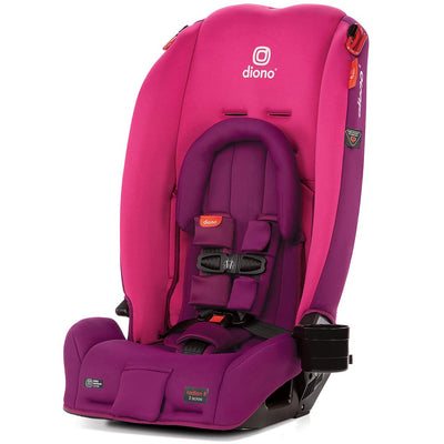 Diono Radian® 3RX Latch Convertible+Booster Car Seat in Pink Blossom