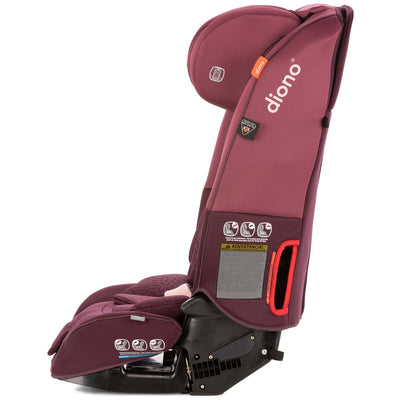 Diono Radian® 3 RXT Convertible+Booster Car Seat in Plum