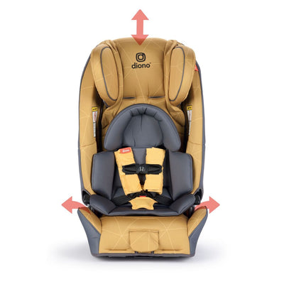 Diono Radian® 3 RXT Convertible+Booster Car Seat in Yellow Sulphur
