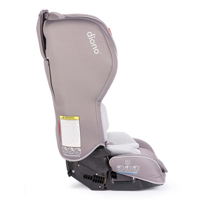 Diono Rainier 2 aX Convertible+Booster Car Seat in Grey Oyster