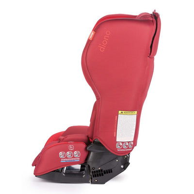 Diono Rainier 2 aX Convertible+Booster Car Seat in Red