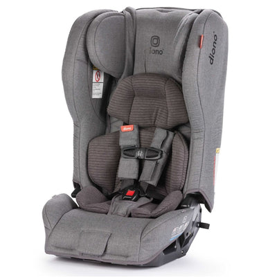 Diono Rainier 2 aXT Vogue Wool Convertible+Booster Car Seat in Dark Grey