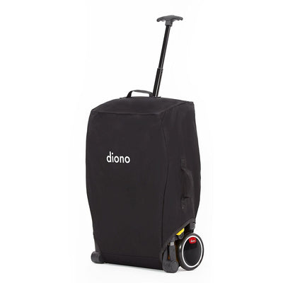 Diono Traverze Luxe Compact Stroller in Black Gold in travel bag