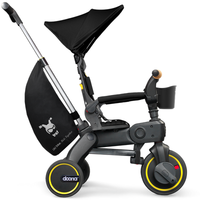 Doona™ Liki Trike S5 in Nitro Black side view