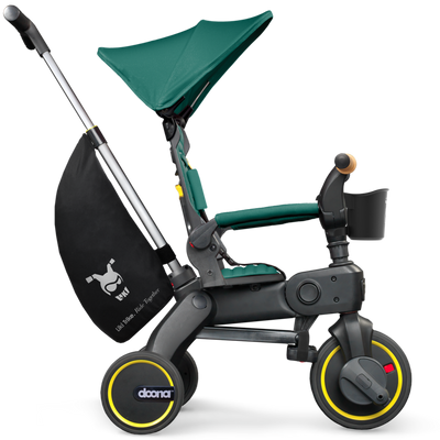 Doona™ Liki Trike S5 in Racing Green side view