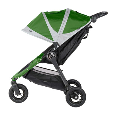 Baby Jogger City Mini® GT Stroller in Evergreen/Gray side view