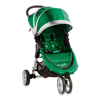 Baby Jogger City Mini® Stroller in Evergreen and Grey