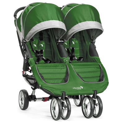 Baby Jogger City Mini® Double Stroller in Evergreen/Gray