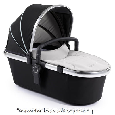 iCandy Peach 2nd Carrycot + Bumper Bar in Beluga Black