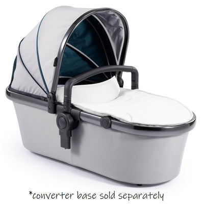 iCandy Peach 2nd Carrycot Fabric + Bumper Bar in Dove Grey