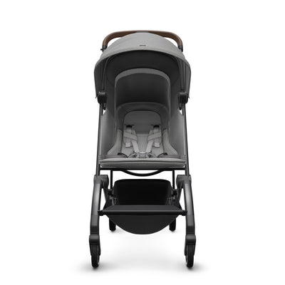 Joolz Aer Lightweight Stroller in Delightful Grey front view