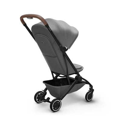 Joolz Aer Lightweight Stroller in Delightful Grey back view