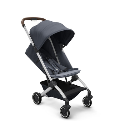 Joolz Aer Lightweight Stroller in Elegant Blue with seat reclined